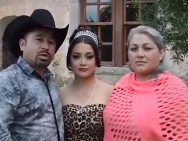 На15-летие мексиканской девушки приехали тысячи человек из-за ролика наYouTube