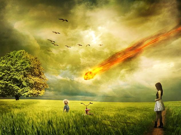 Земля будет уничтожена в октябре 2017 года