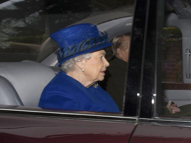 На сайте Букингемского дворца появилось сообщение о смерти Елизаветы II