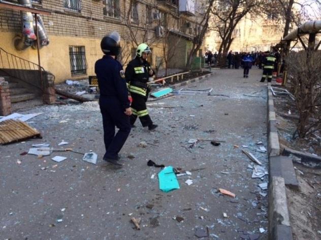 При взрыве газа в жилом доме в Саратове пострадали 10 человек