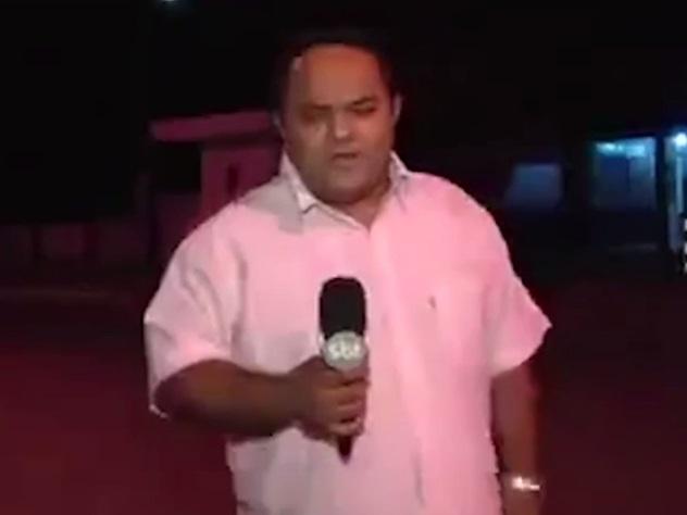Бразильский репортёр впрямом эфире предсказал трагедию