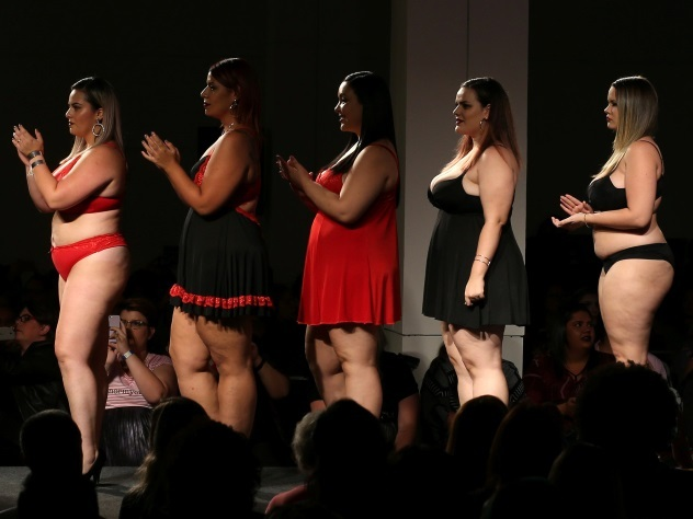 Нестандартные модели приняли участие в модном дефиле в Бразилии