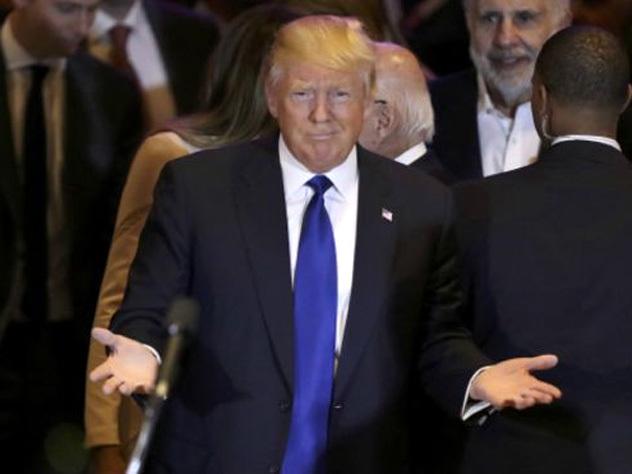 Трампа отказались заселять в немецкий отель