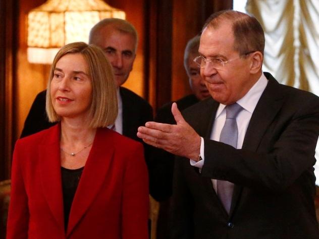 Лавров указал Могерини на несправедливость санкций