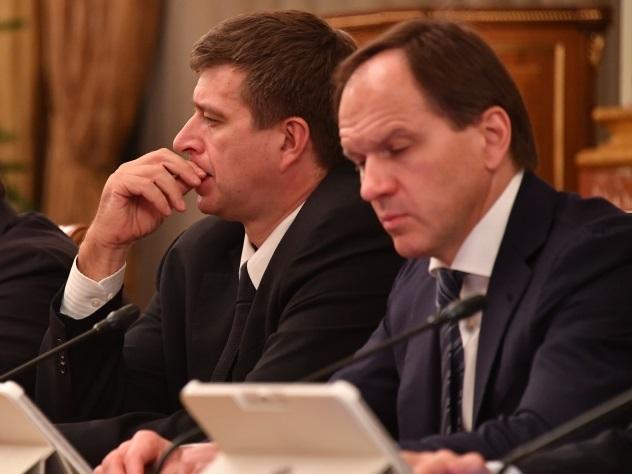 Министр приковылял вКремль накостылях