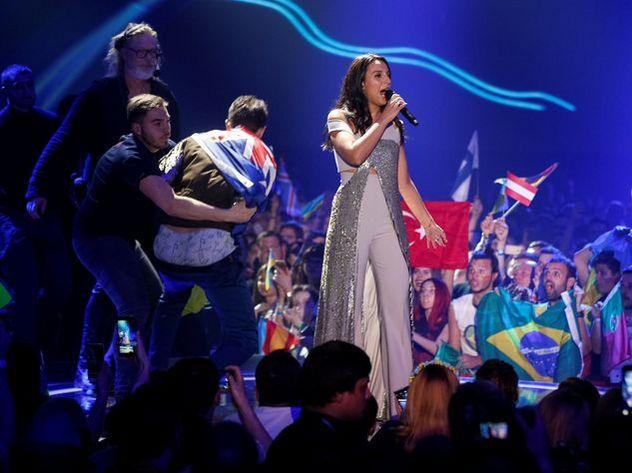 Снявшему штаны на сцене «Евровидения» украинцу грозит 5 лет тюрьмы