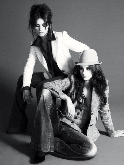 Пенелопа и Моника КРУЗ в рекламе Mango. Фото Splash