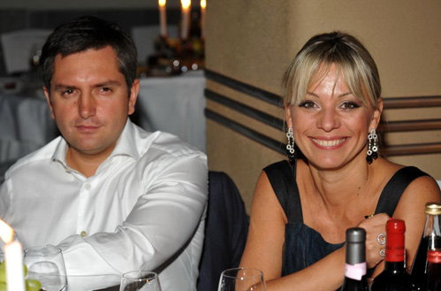 Ирина с гражданским мужем - бизнесменом Игорем