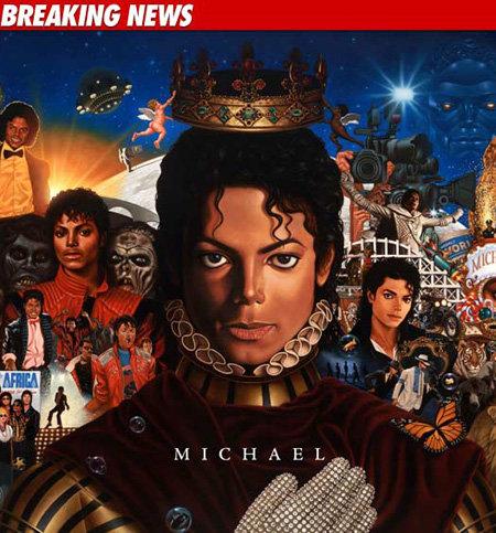 Обложка нового альбома Майкла ДЖЕКСОНА