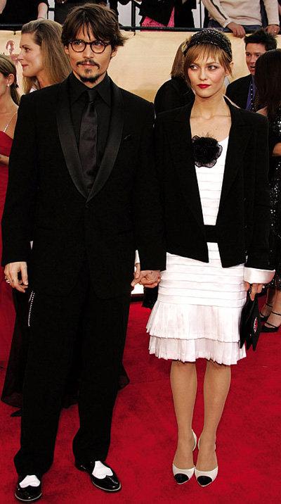 Джонни ДЕПП и Ванесса ПАРАДИ - фото dailymail.co.uk