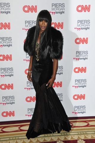 Наоми КЭМПБЕЛЛ на вечеринке CNN  8 декабря