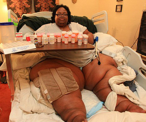Терри СМИТ грозит смерть, если она не сбросит лишние килограммы