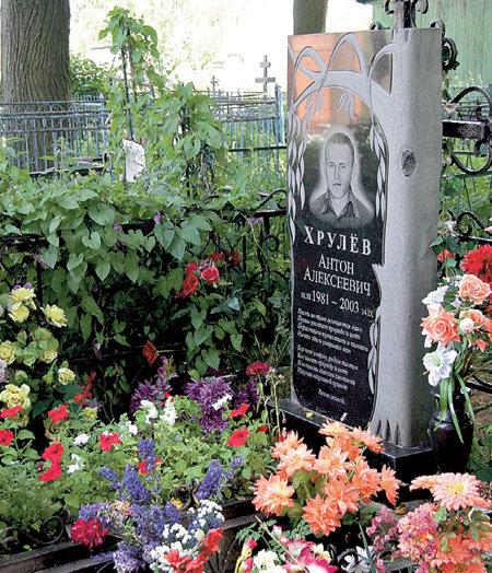 Могила первого мужчины «татушки» в селе Петровское
