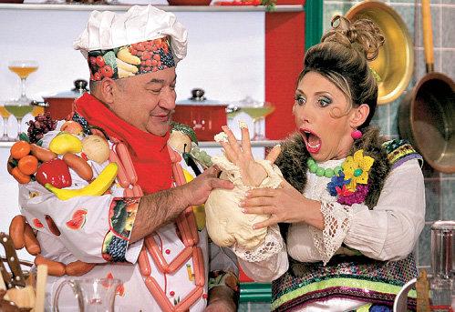 Варвара (ВОРОБЕЙ) попала в сказочное кулинарное шоу