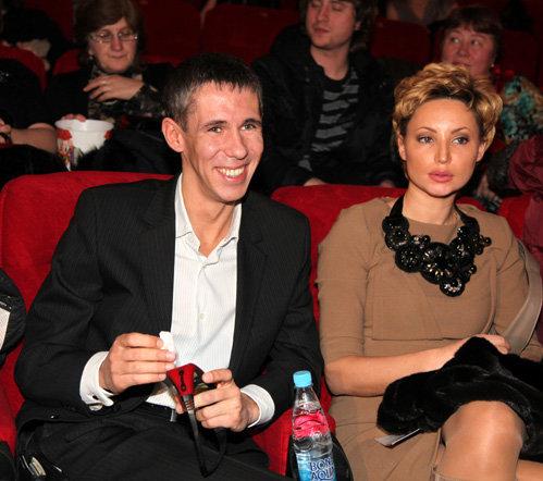 Алексей ПАНИН с подругой Юлей