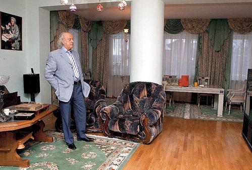 Гостиная - любимая в доме комната Ильи Рахмиэлевича
