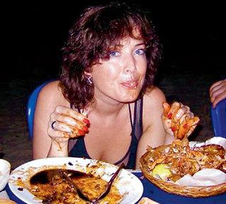 Праздник живота: во время отпуска в Индонезии Жанна не откажется от экзотического лобстера...