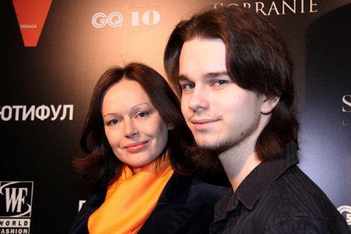 Ирина БУЗРУКОВА с сыном Андреем