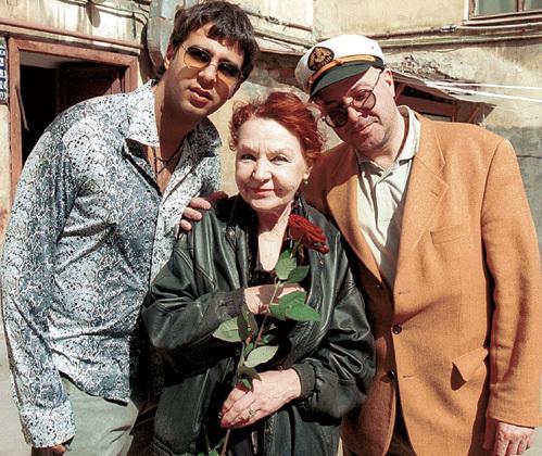 Иван УРГАНТ с бабушкой и отцом