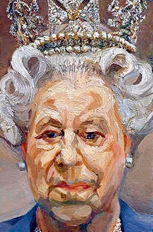 Портрет королевы ЕЛИЗАВЕТЫ II