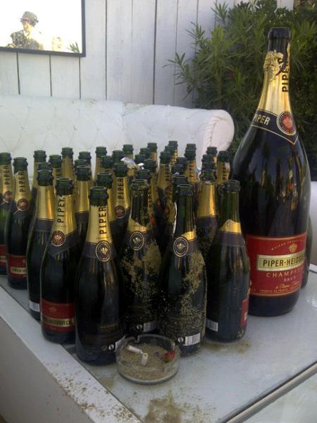 Столько было выпито во время праздничной вечеринки