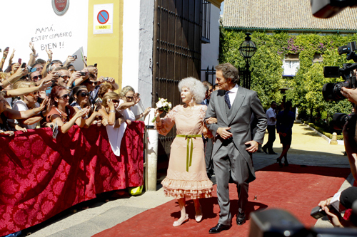 Герцогиня АЛЬБА вышла замуж за Альфонсо ДИАСА. Фото: Splash/All Over Press.