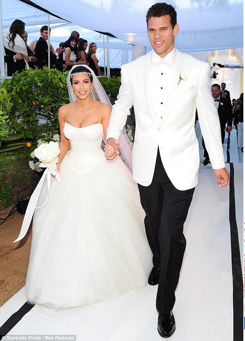 Брак Криса ХАМФРИСА и Ким КАРДАШЬЯН продлился всего 72 дня. Фото: Daily Mail.