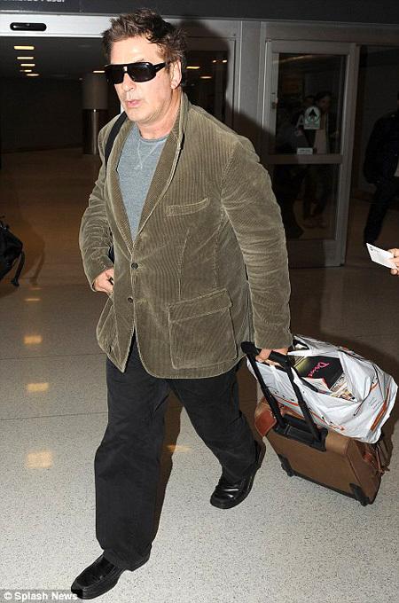 Болдуин в аэропорту Нью-Йорка