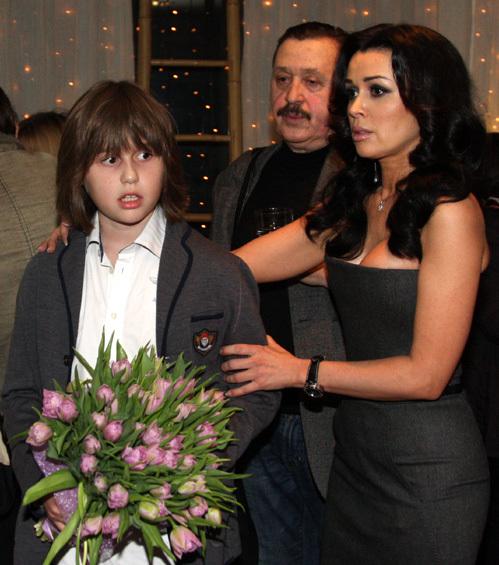 Анастасия ЗАВОРТНЮК с сыном Майком