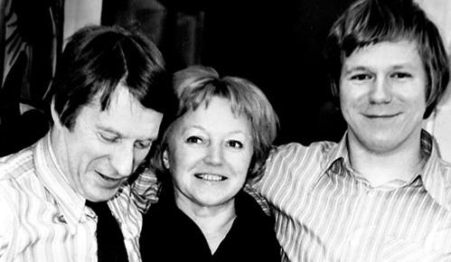 В жизни КАСАТКИНОЙ было два самых любимых мужчины - муж Сергей КОЛОСОВ и сын Алексей