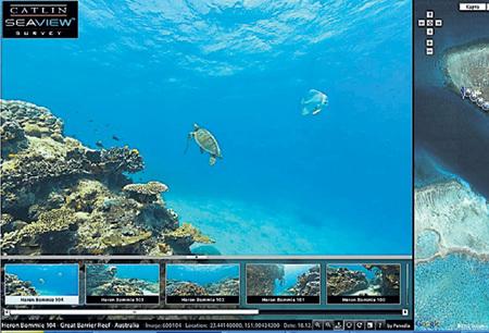 Подводные съёмки выкладывают в Интернет по мере готовности
