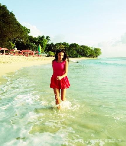 Алёна ВОДОНАЕВА на Барбадосе.