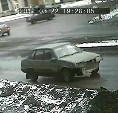 Авто хладнокровных стрелков: засветилось сразу несколькими дорожными камерами видеонаблюдения, что помогло сыщикам быстро выйти на след Краснянского и Марюхина