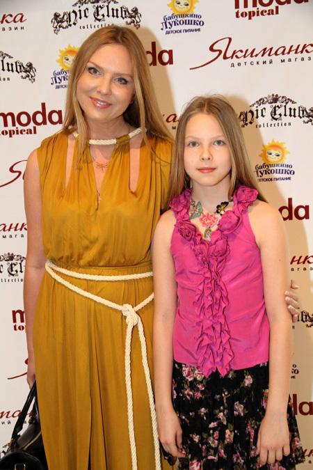 Варвара с дочкой Варей