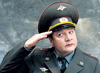 Звёздная роль актёра - майор Колобков в сериале «Солдаты»