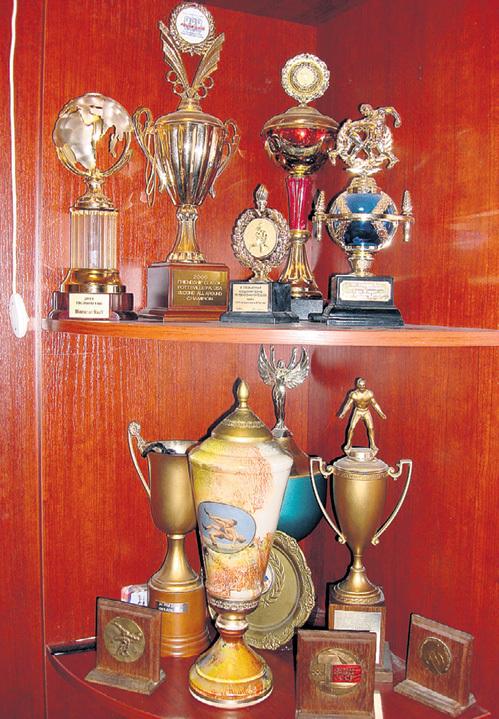 Это лишь часть призов и наград, которые завоевали в разные годы Алия МУСТАФИНА и её отец Фаргат