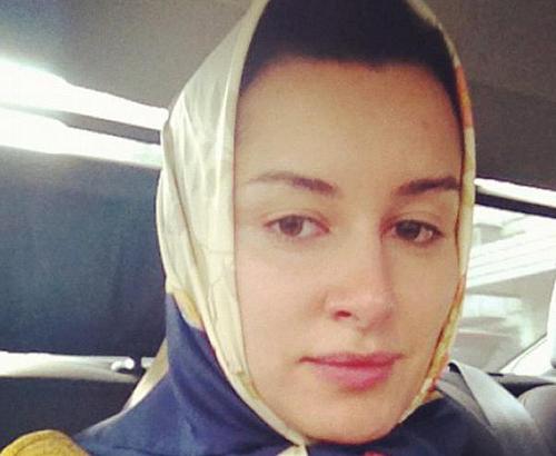 Тина КАНДЕЛАКИ (фото из Твиттера телеведущей).