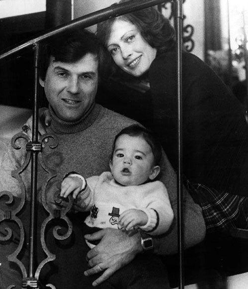 Виктория с мужем-американцем Ричардом и сыном Кристофером