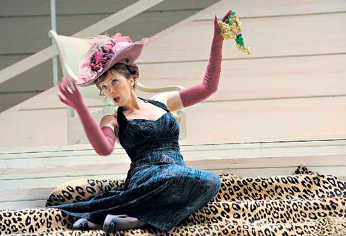 В спектакле «Обрыв» Дарья играет одну из главных ролей. Фото: РИА «Новости»