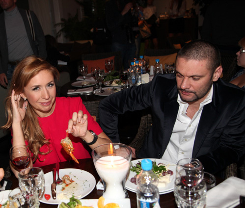 Анастасия ГРЕБЁНКИНА с мужем