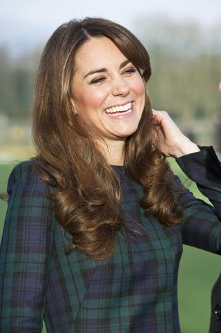 Официальный представитель королевского дома подтвердил: герцогиня Кейт ждёт ребенка! (фото Splash/All Over Press)