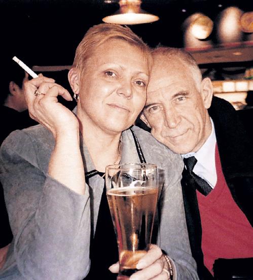 С супругой Любовью Викторовной
