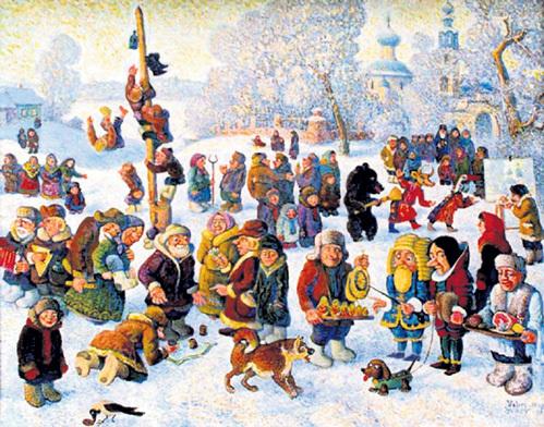 Масленица была самым весёлым, шумным и разгульным праздником на Руси. Отсюда и поговорка: «Не житьё, а масленица»