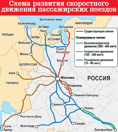 Схема проезда поезда москва-адлер