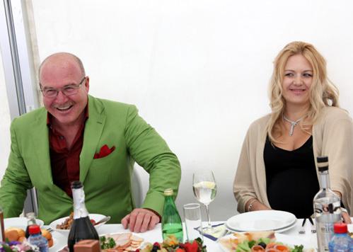 Николай АГУРБАШ со своей возлюбленной Ольгой ПОМИНОВОЙ. Фото Ларисы КУДРЯВЦЕВОЙ