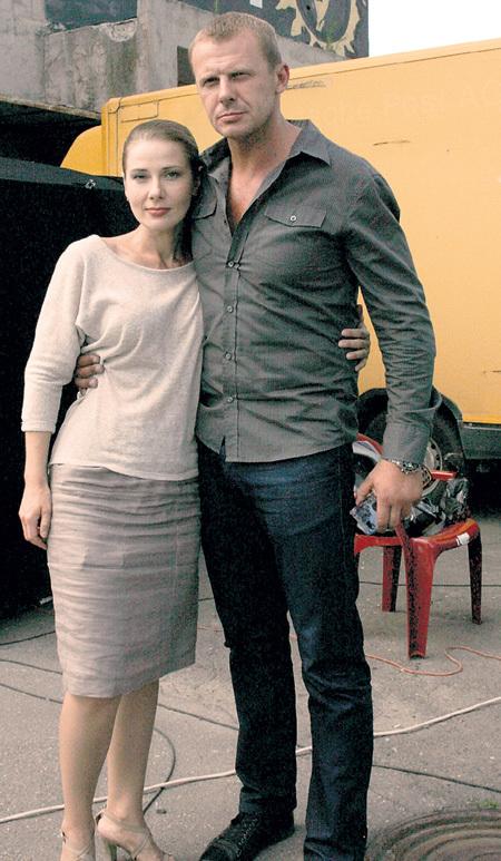 Андрей СТОЯНОВ и Ирина ЛИНДТ играют влюблённую пару