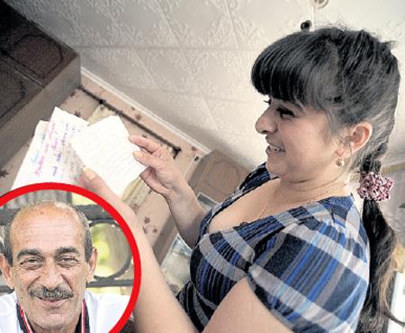 Свидания запрещал строгий отец (в круге), пришлось девушке обходиться любовными письмами