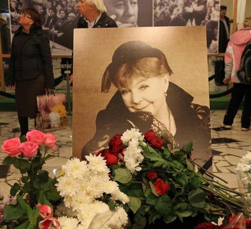 Москва простилась с Ольгой АРОСЕВОЙ.