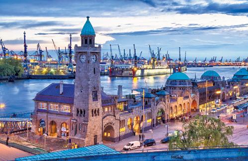 В Гамбурге вас ожидает неповторимая атмосфера портового города, открытого для всех