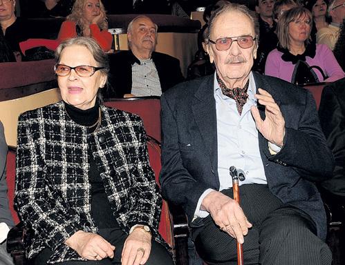 С нынешней супругой Ириной СЕРГЕЕВОЙ замечательный актёр прожил вместе 45 лет